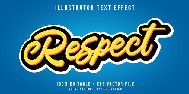 Bewerkbaar teksteffect - yellowscript-stijl