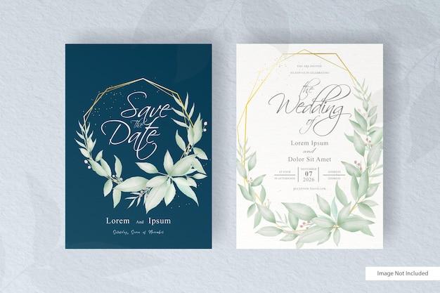 Bewerkbare bruiloft uitnodiging sjabloon