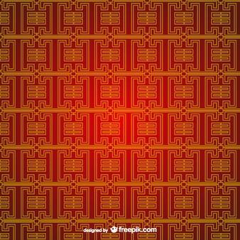 Bewerkbare chinese patroon