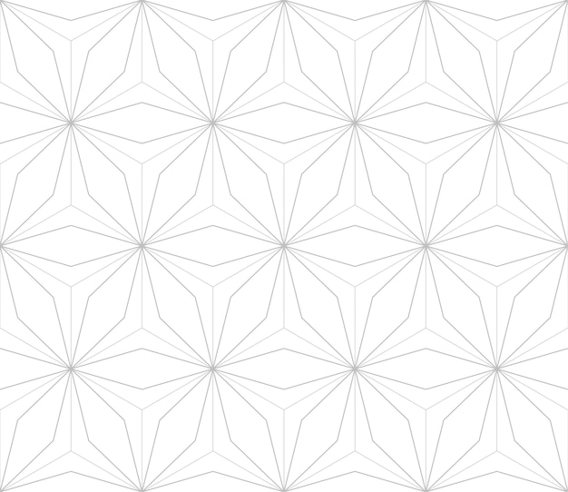 Bewerkbare naadloze geometrische patroon tegel