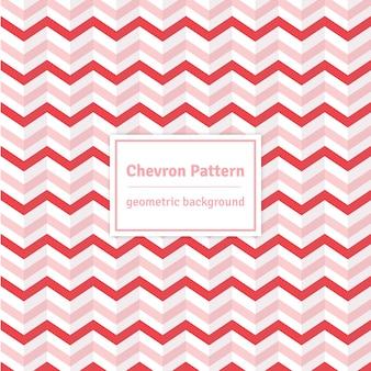 Bewerkbare roze chevron achtergrond - naadloos patroon
