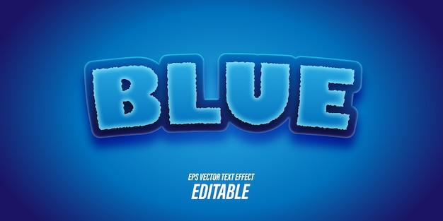 Bewerkbare tekst met 3d-effecten met speelse en leuke thema's en levendige kleuren