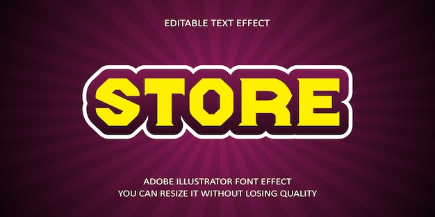 Bewerkbare tekst opslaan effect