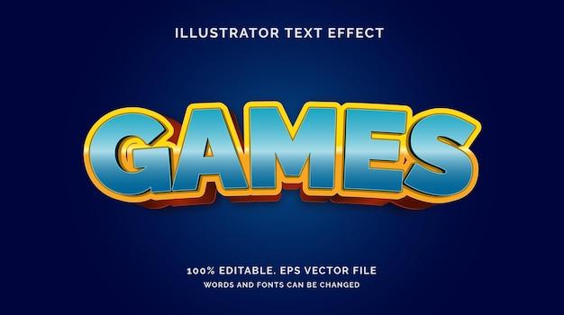 Bewerkbare teksteffect spelstijl