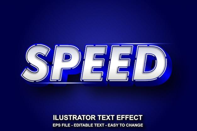 Bewerkbare teksteffect sportstijl