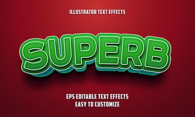 Bewerkbare teksteffecten stijl