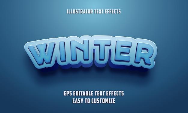 Bewerkbare teksteffectenstijl