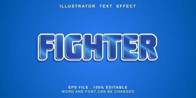 Bewerkbare teksteffectjager