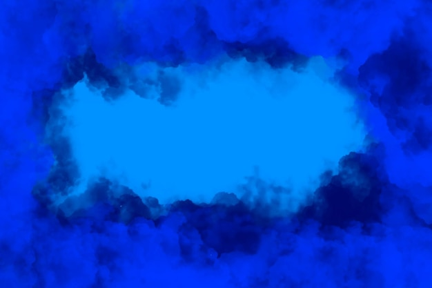 Bewolkt frame achtergrond
