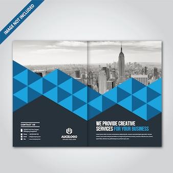 Bi fold brochureontwerp