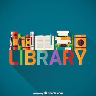 Bibliotheek boekenplank
