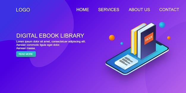 Bibliotheek met e-boeken