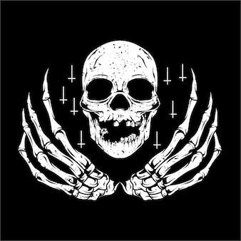 Bid in naam van de schedel