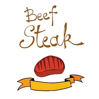 Biefstuk doodle