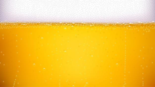 Bier achtergrond breed