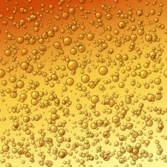Bier bubbels achtergrond