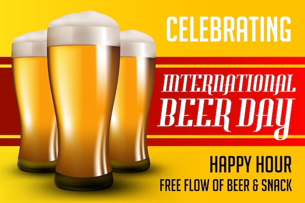 Bier dag poster
