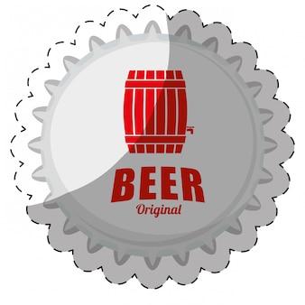 Bier gerelateerde pictogrammen afbeelding