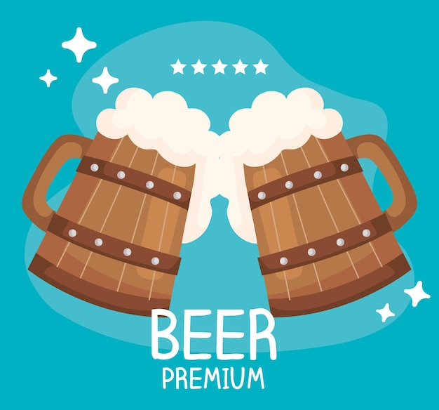 Bier premium poster