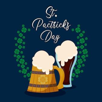 Bieren van st. patrick day