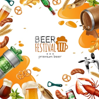 Bierfestival sjabloon
