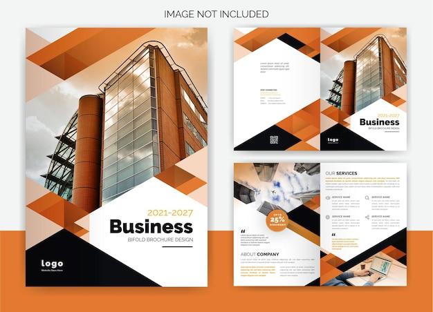 Bifold brochure ontwerp