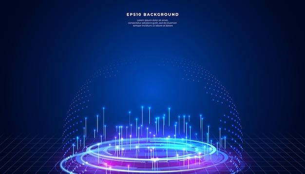 Big data abstracte achtergrond