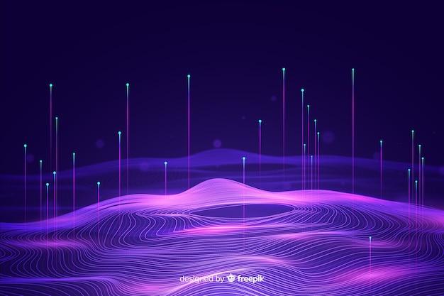 Big data concept achtergrond