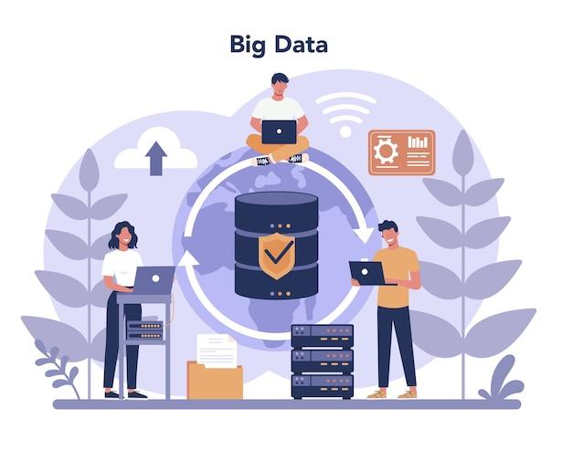 Big data-concept.