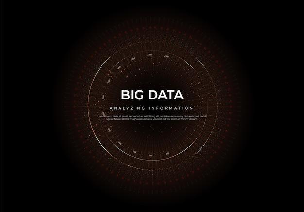 Big data van toekomstige technologieën, computer gegenereerde abstract