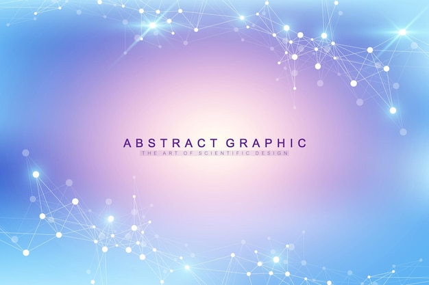 Big data visualisatie illustratie