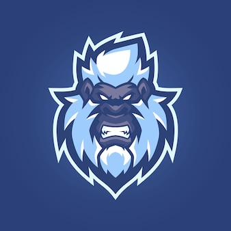 Bigfoot esports logo-sjablonen