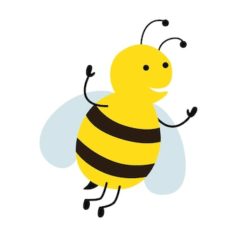 Bijen cartoon