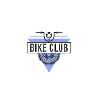 Bike club logo sjabloon
