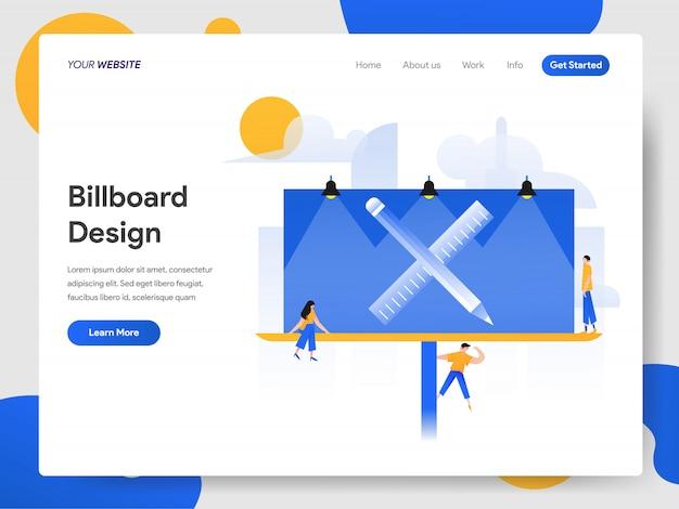 Billboard ontwerpconcept