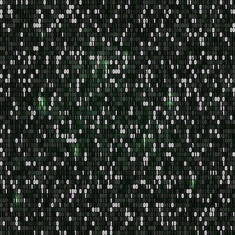 Binaire code met nummers één en nul