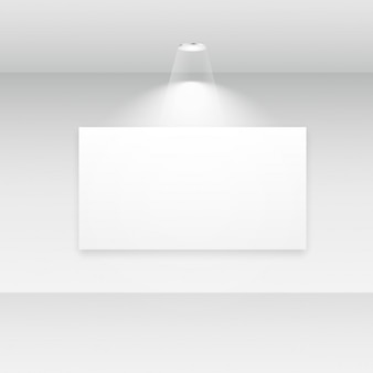 Binnenland van het album met lege frames