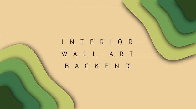 Binnenmuurkunst backend