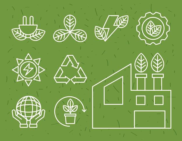 Bio-energie negen elementen