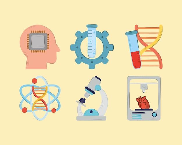 Bioengineering wetenschap ingesteld
