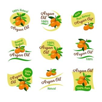Biologisch plat arganolie-badgepakket