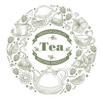 Biologische thee en warme kruidendranken voor de gezondheid