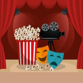 Bioscoop eten met filmiconen