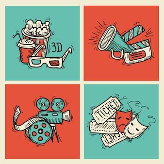 Bioscoop pictogrammen instellen
