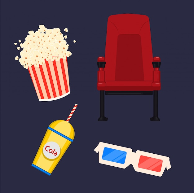 Bioscoop stoel