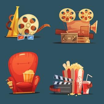 Bioscoop symbolen