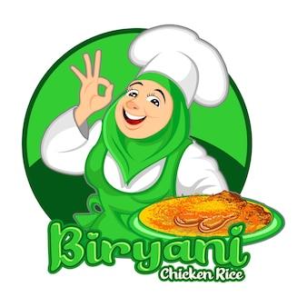 Biryani kip rijst