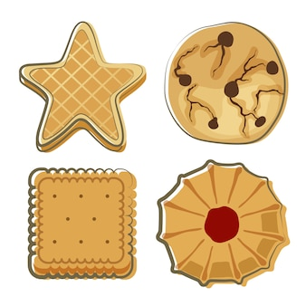 Biscuit doodle voedsel set