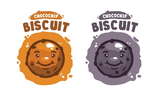 Biscuit karakter illustratie voor allerlei doeleinden