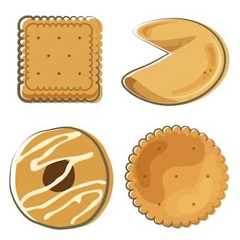 Biscuit voedsel set